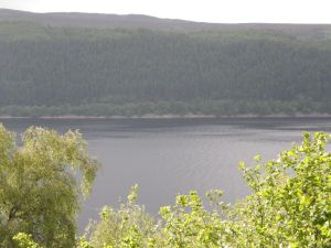 Where Tim Dinsdale filmed the Loch Ness Monster