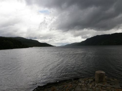 Loch Ness from Fort Augustus - no monster!