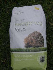 Hedgehog food