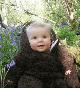 Scarlett in Bluebells