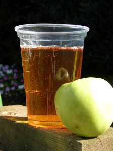Cider - before and after