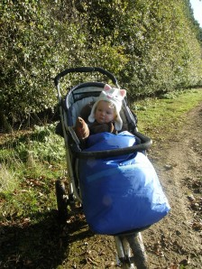 All-terrain baby buggy