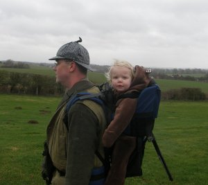 The backpack baby carrier