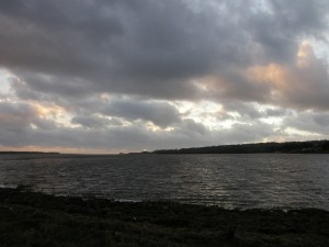 The Estuary at Malltraeth at Sunset