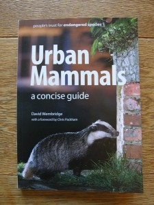 Urban Mammals by the People's Trust for Endangered Species